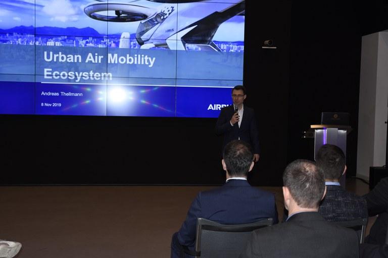 Unternehmensexkursion Airbus