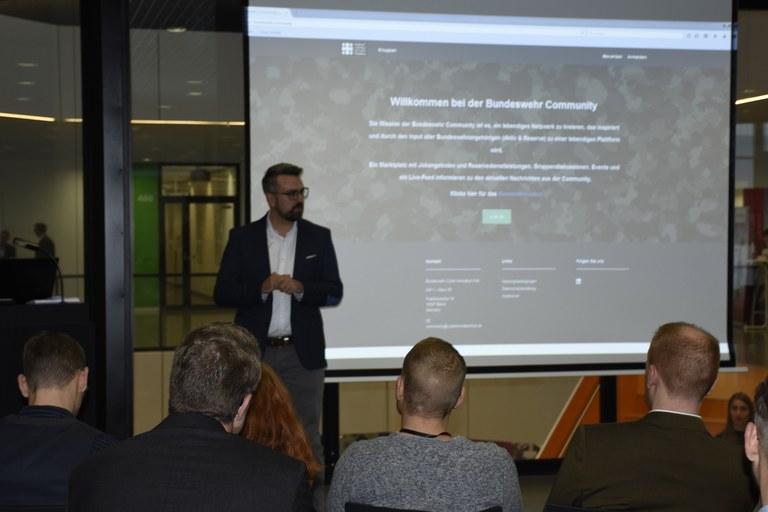 Vortrag Cyber Innovation Hub