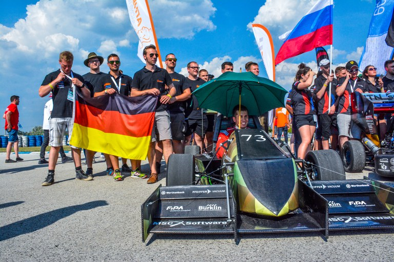 Unser Team 2017 in Ungarn