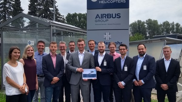Abschluss des Projektstudiums bei AIRBUS Helicopters