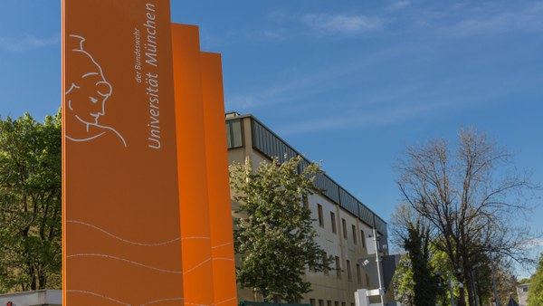 Einfahrt_Campus_Universität der Bundeswehr München
