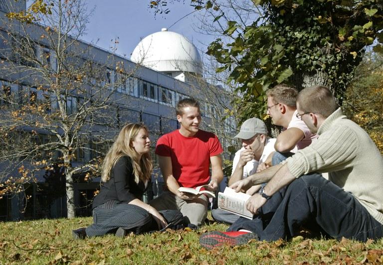 Studierende_Campus_Universität der Bundeswehr München