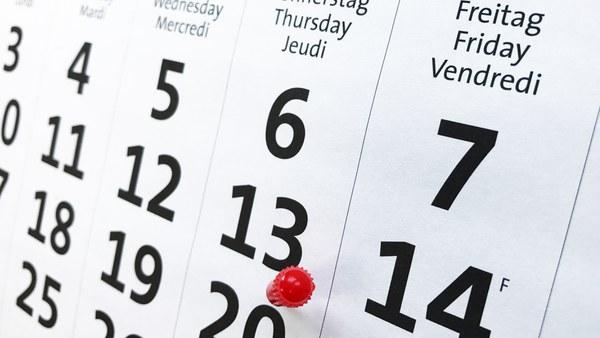 current dates