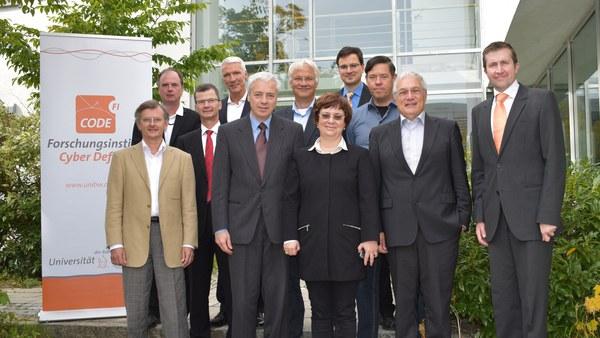 Forschungsinstitut CODE begrüßt neuen Beirat