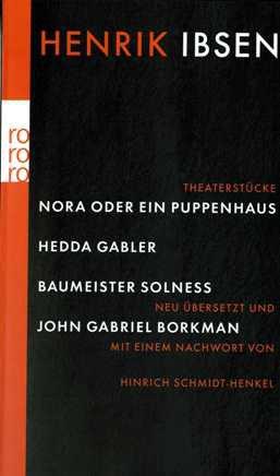 Buchcover Nora oder Ein Puppenhaus. Hedda Gabler. Baumeister Solness. John Gabriel Borkman