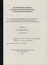 """Download der Dissertation """"Key distribution schemes for resource-constrained devices in wireless sensor networks"""""""