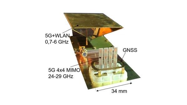 5G/WLAN/C2X und GNSS Multi-Antennenmodul