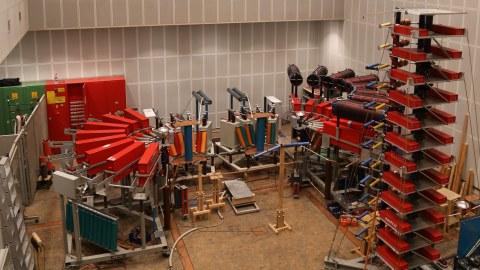 Stossstromanlage und Marxgenerator