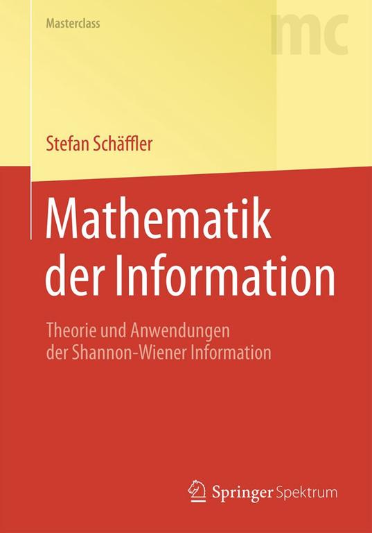 Mathematik der Information - Cover