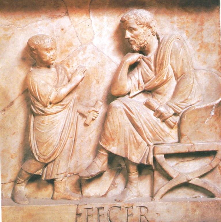 Schule der Antike