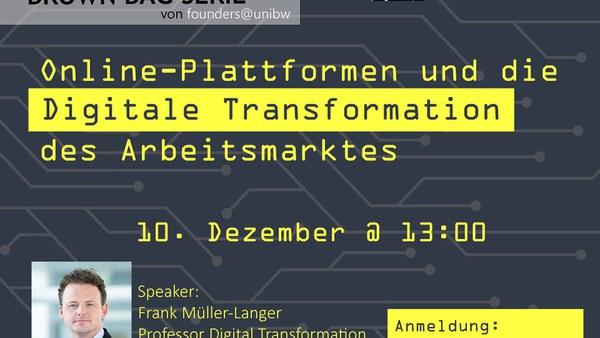 Online-Plattformen und die Digitale Transformation des Arbeitsmarktes