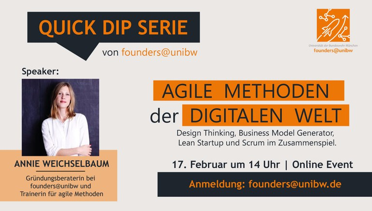 Quick Dip: Agile Methoden der digitalen Welt