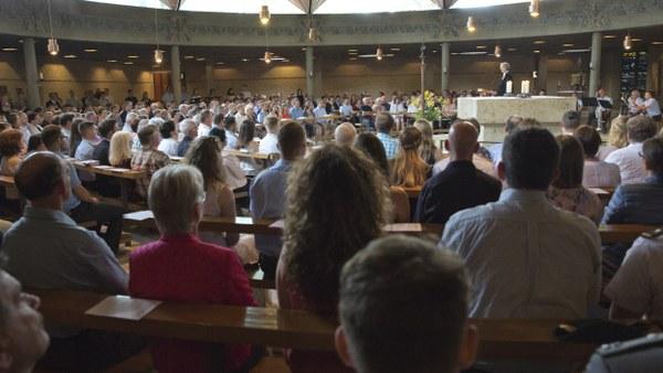 Gottesdienst zur Beförderung