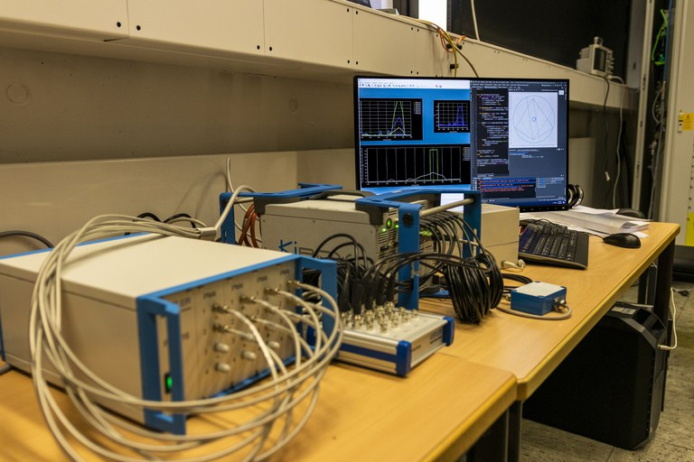 Kistler Flammentomografie und High Speed Kamerasystem