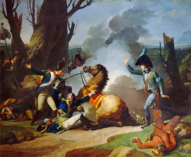 Die Versorgung verwundeter Soldaten während der napoleonischen Kriege (1805-1813)