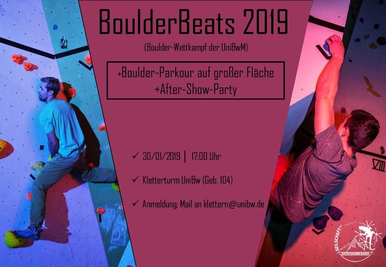 Boulderwettkampf - BoulderBeats 2019