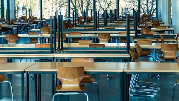 Campus-Impressionen in Corona-Zeiten
