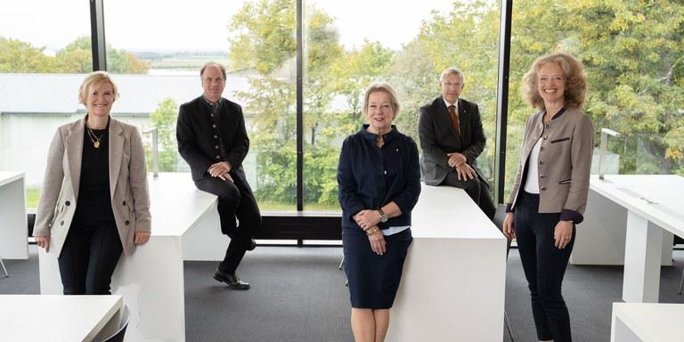 Präsidentin und Vizes der UniBw M