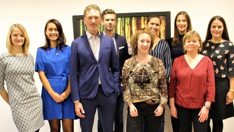Das Team der Psychotherapeutischen Hochschulambulanz der Universität der Bundeswehr München (Foto aus dem Jahr 2019)