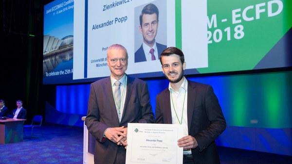 Besondere Auszeichnung für Prof. Alexander Popp
