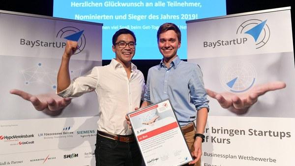 Hervorragende Platzierung für das Start-up-Unternehmen m-Bee