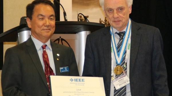 Besondere Auszeichnung für Prof. Rainer Marquardt