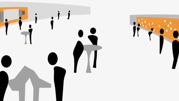 CommunityMirrors: Interaktive Großbildschirme als ubiquitäre Natural User Interfaces für Kooperationssysteme