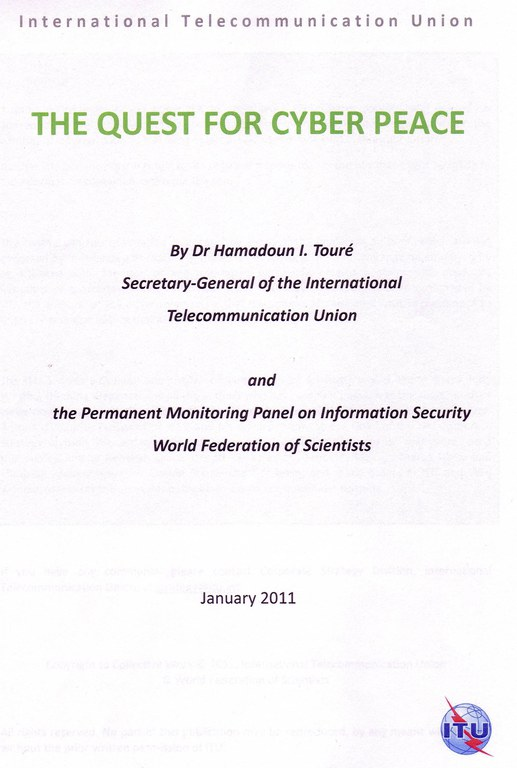 The Quest for Cyber Peace Page 2
