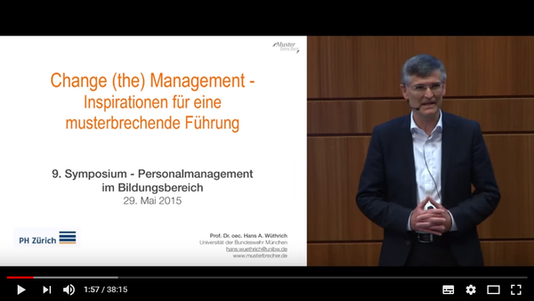 Change (the) Management - Impulse für eine musterbrechende Führung