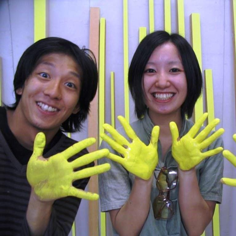 Students of the Art Academy Kanazawa, Japan