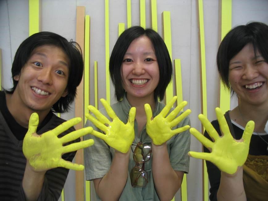 Studenten der Kunsthochschule Kanazawa, Japan
