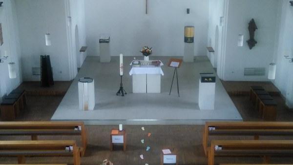 Osterweg Orgelbühne