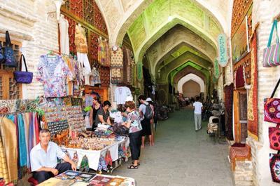 Studienreise Usbekistan – Marktbesuch