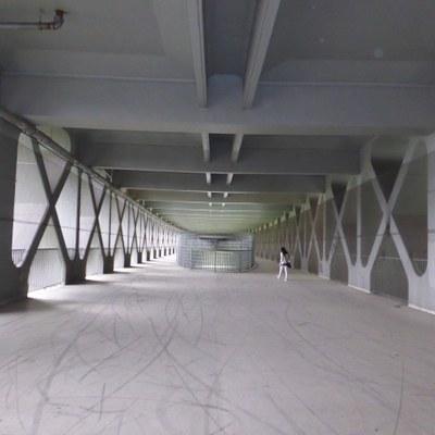 Innenansicht der Mangfallbrücke