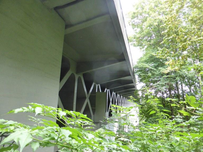 Außenansicht Mangfallbrücke