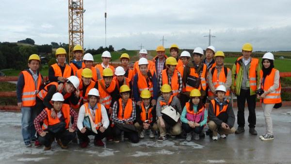 Besuch OIT mit Brückenexkursion 2014