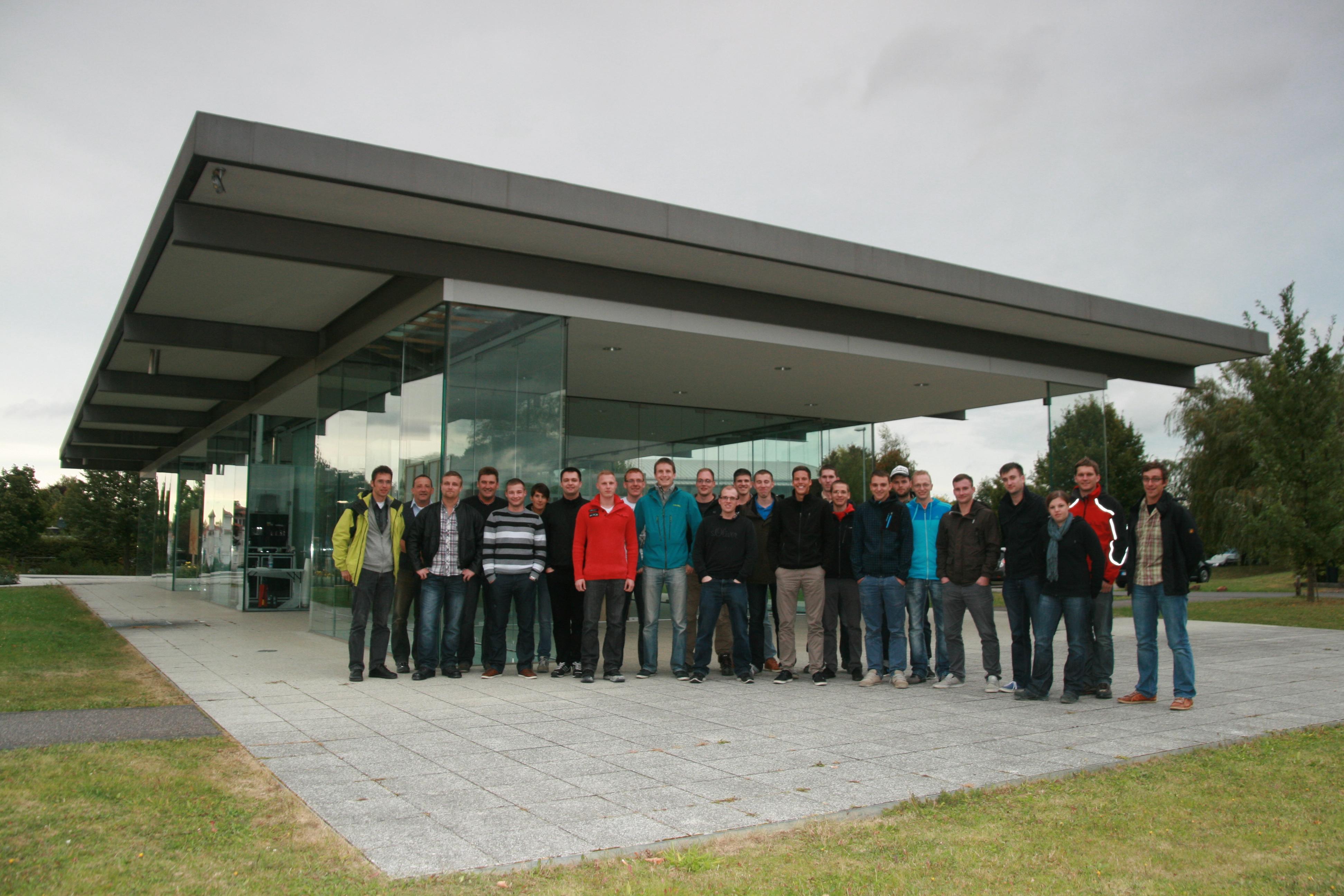 Große BAU-Exkursion 2012
