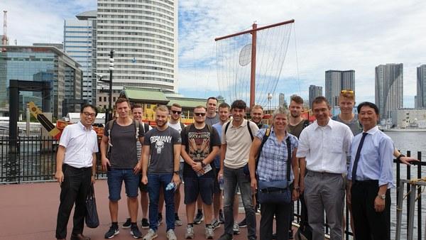 Boat Cruise on Sumida River