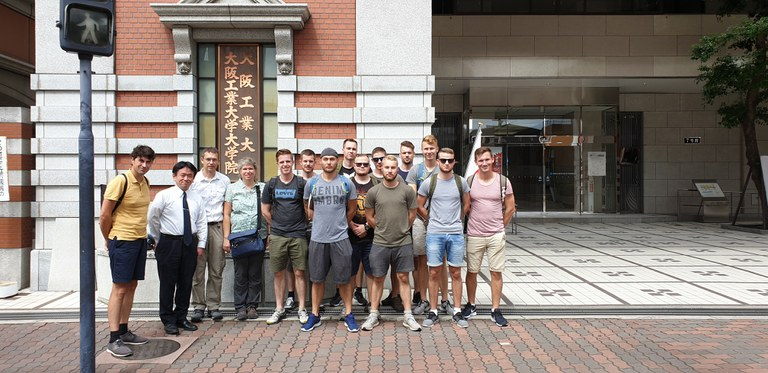 Besuch bei der Partneruniversität OIT Osaka Institute of Technology