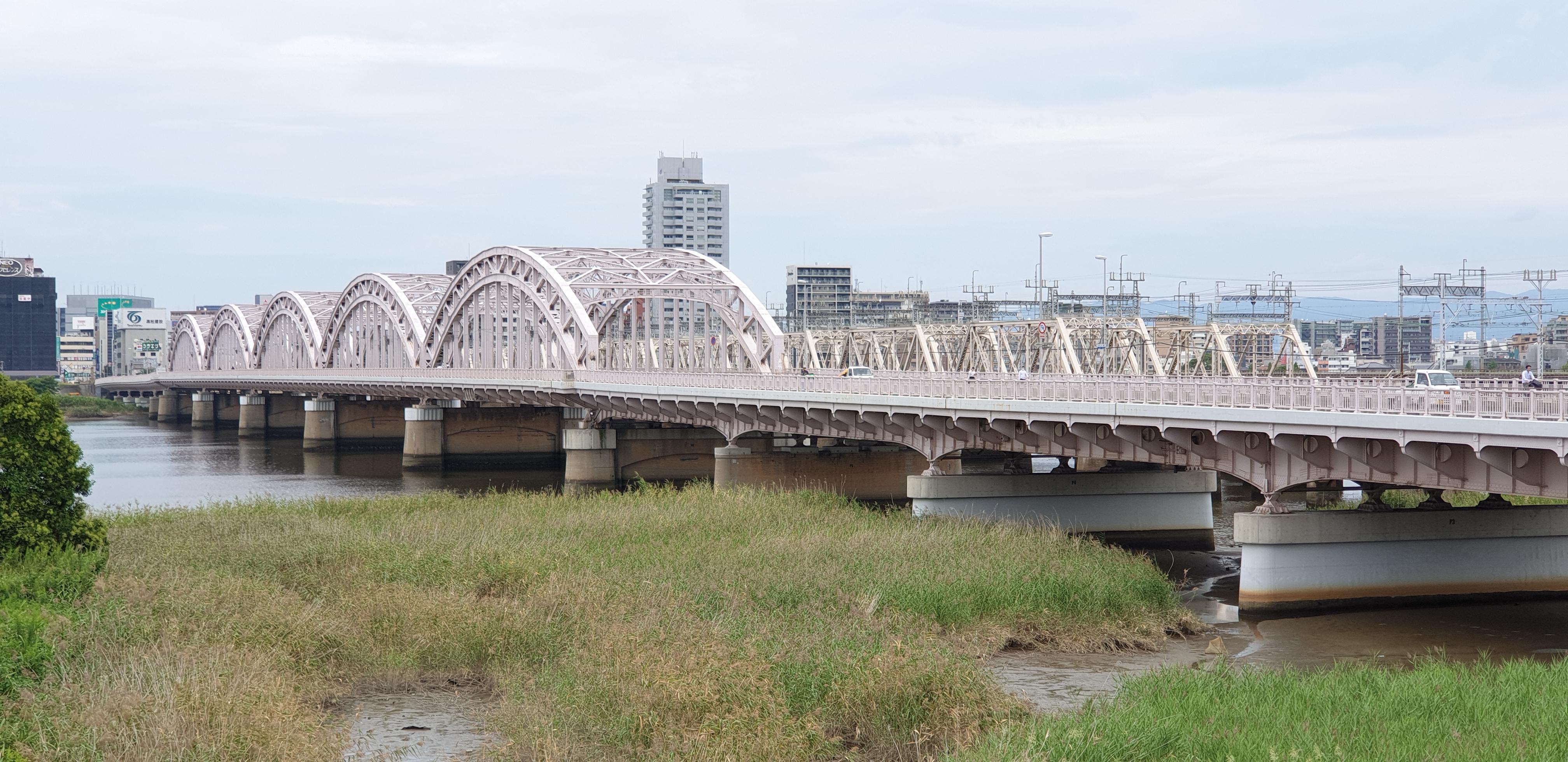 Brücken über Yodo River