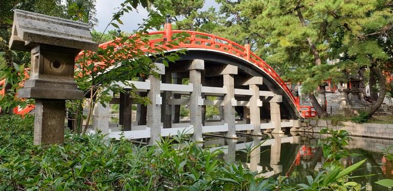 Sori-Brücke bei Sumiyoshi