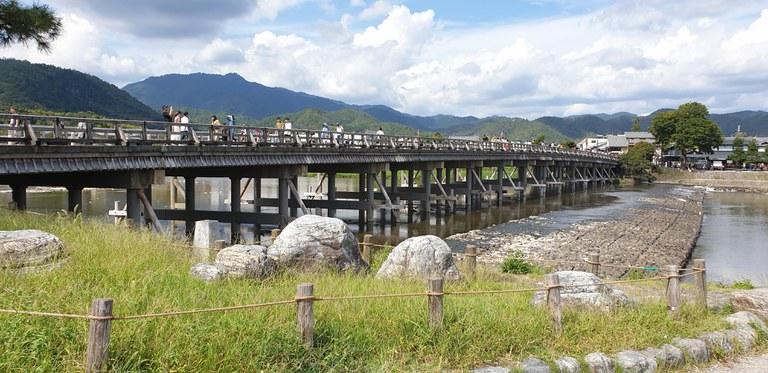 Togetsu-kyo Brücke