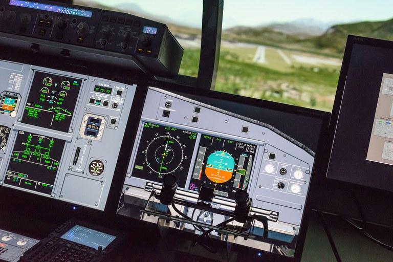 A 320 Flugsimulator