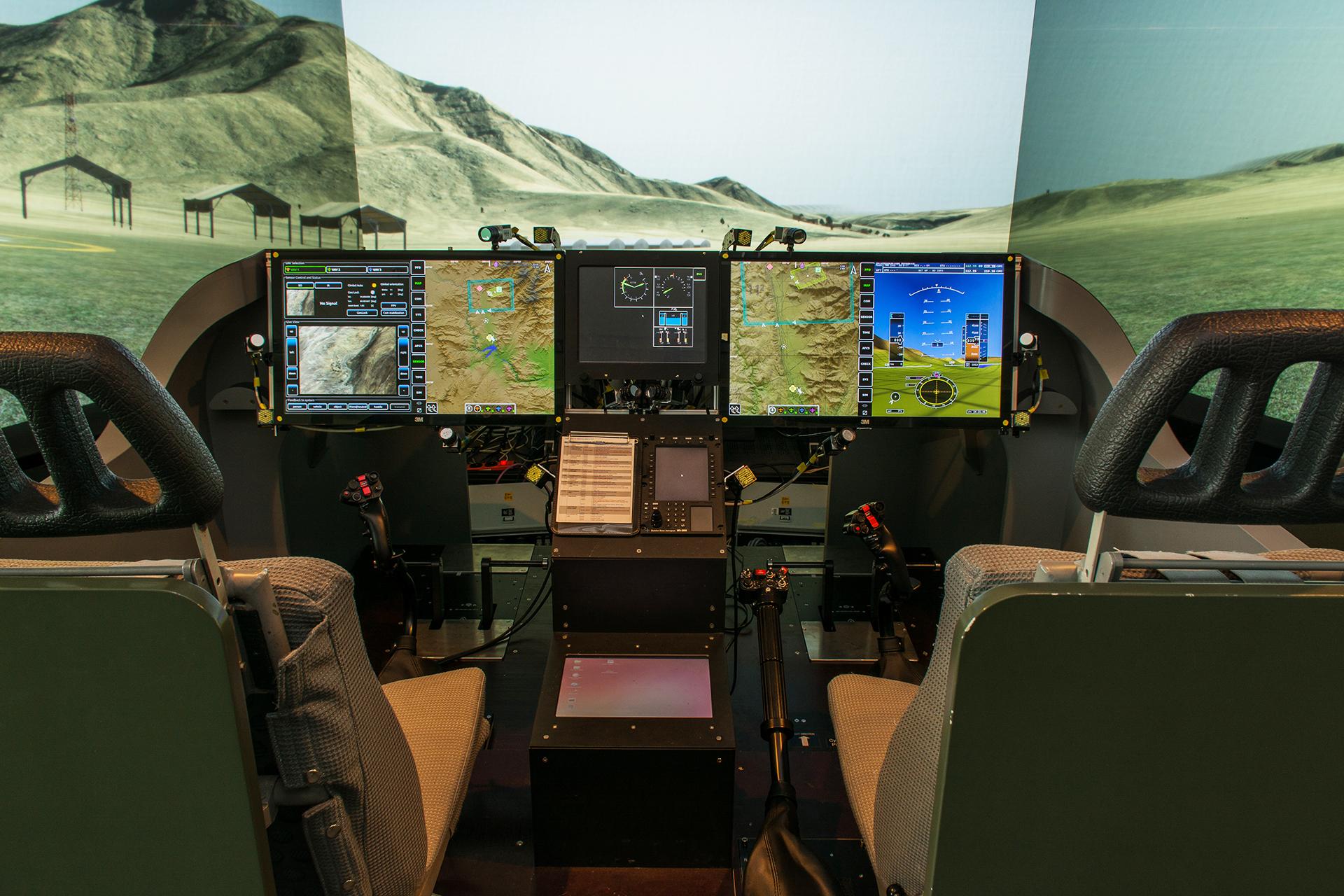 Hubschrauber Simulator