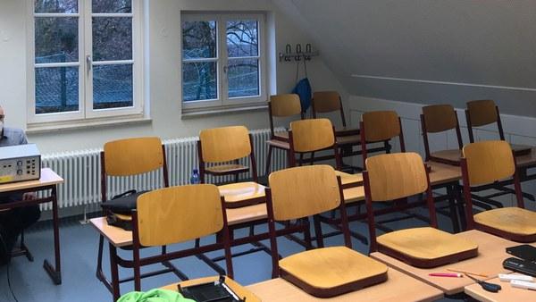 Qualifizierung des UniBw Schutzkonzeptes in verschiedenen Räumen des Obermenzinger Gymnasiums