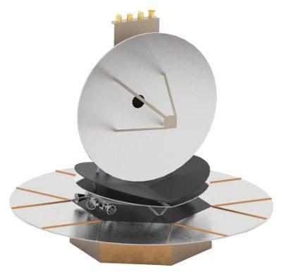 IRASSI spacecraft