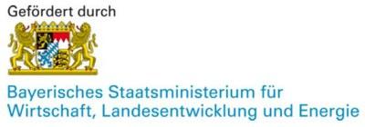 Förderer:  Bayerisches Staatsministerium für Wirtschaft, Landesentwicklung und Energie