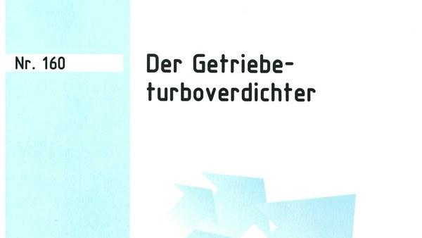 """Buchvorstellung """"Der Getriebeturboverdichter"""""""