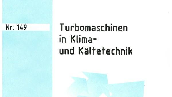 """Buchvorstellung """"Turbomaschinen in Klima- und Kältetechnik"""""""