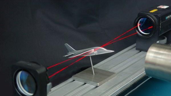 Laser-Doppler-Anemometrie (LDA)